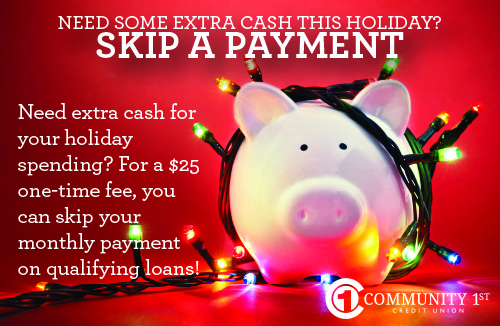 Skip your next loan payment!