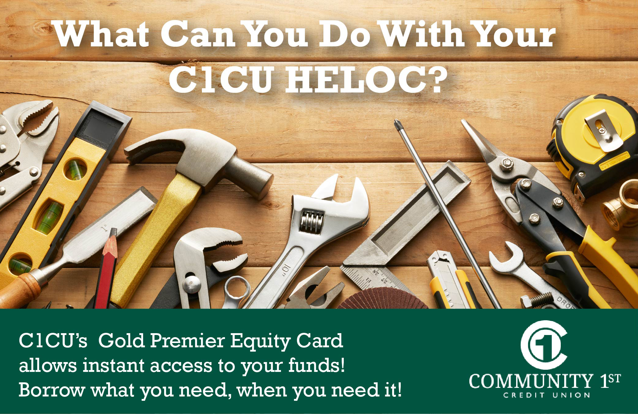 Home Equity Line of Credit Promotion