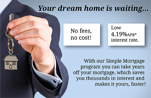 Simple Mortgage Promotion