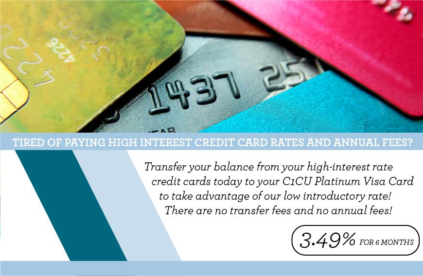 3.49% Visa Balance Transfer Promotion